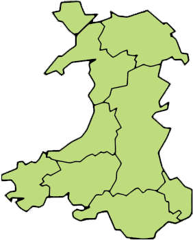 Wales Counties